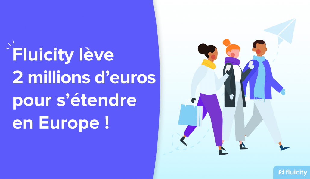 Illustration de la levée de fonds de Fluicity pour faire parler l'intelligence collective en Europe